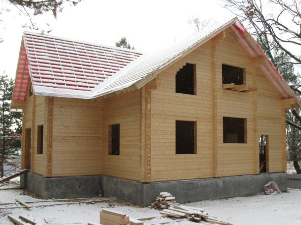 Строительство дома из бруса своими руками: видео-инструкция, пошаговое