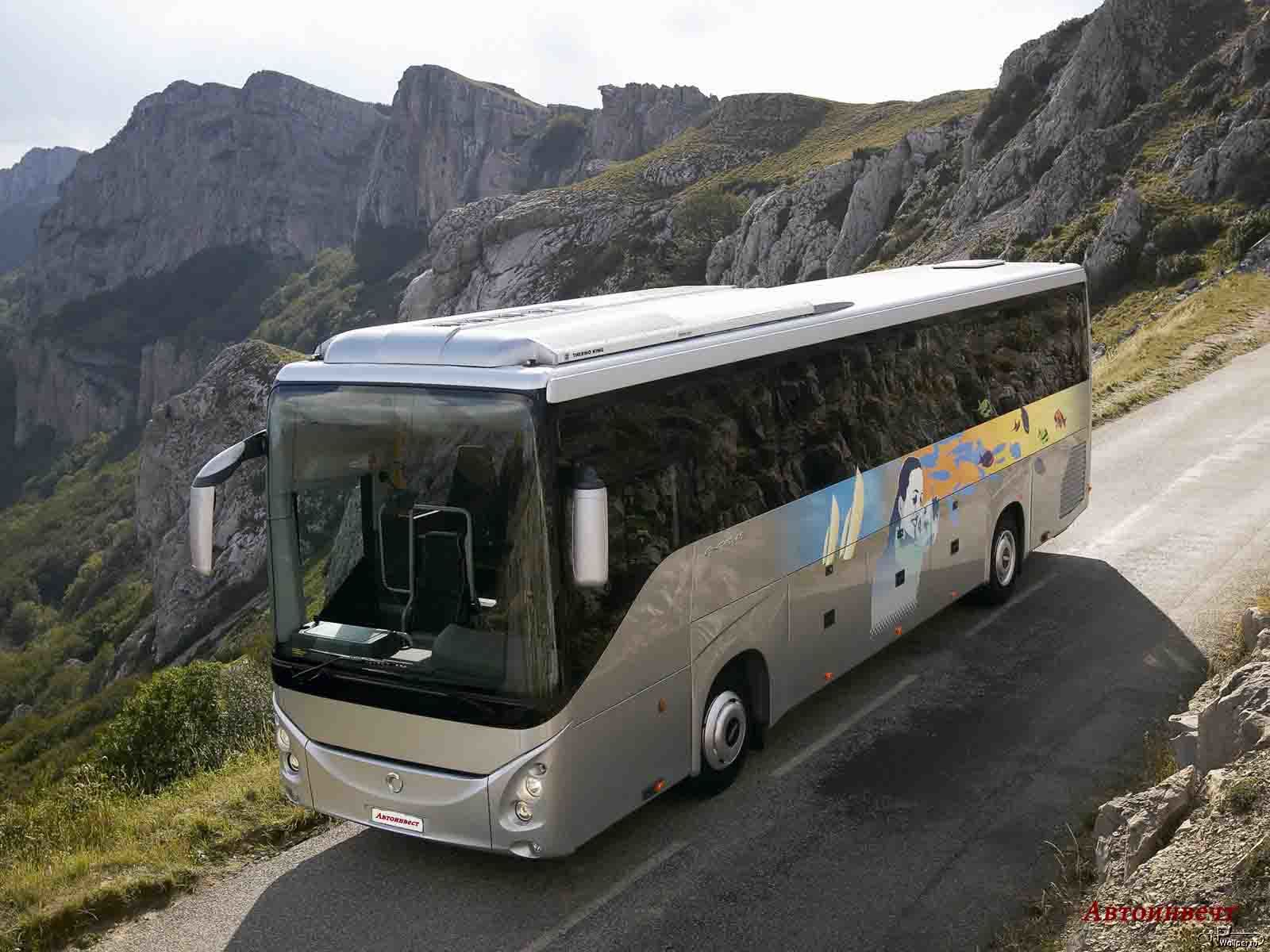 Во время экскурсии в один автобус