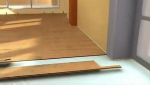 Укладка ламината своими руками в дверном проеме