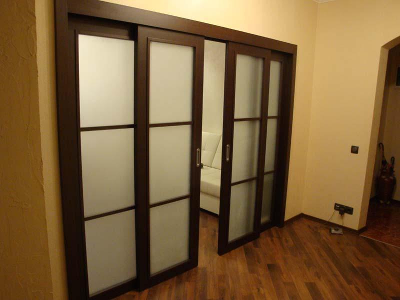 Раздвижные двери межкомнатные фото