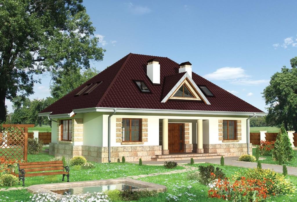 Дизайн крыш дома фото