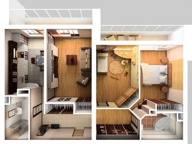 Перепланировка квартир дизайн фото