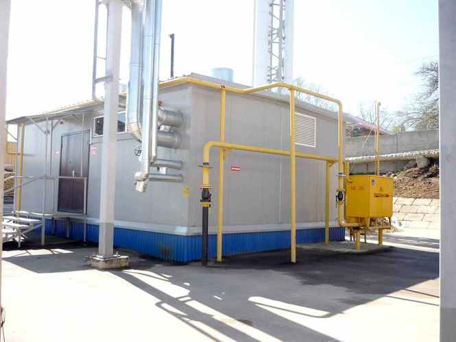 строительство газовой котельной