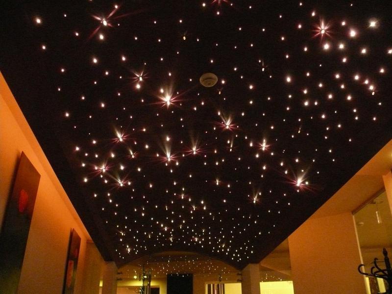 """Как сделать эффект """"звездного неба"""" на потолке? - Дизайн интерьера"""